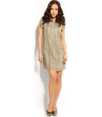 rashida dress gr - guess - jurken - groen