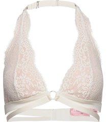 mira halter bralette lingerie bras & tops soft bras rosa hunkemöller