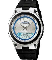 reloj deportivo kcasaw 82 7a casio-negro
