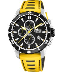 reloj lotus r amarillo lotus
