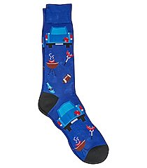 jos. a. bank comfort luxe tailgate socks, 1-pair clearance