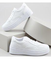 tênis feminino oneself flatform branco