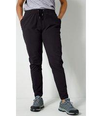 softshell broek janet & joyce zwart
