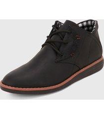 zapato casual negra-café monserrate