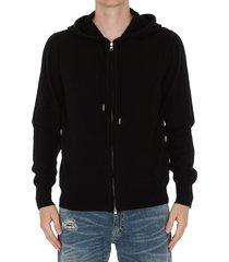 alexander mcqueen zipped hoodie