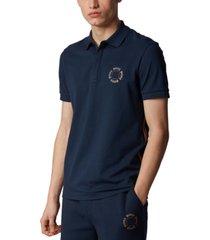 boss men's paddy 8 pique polo shirt