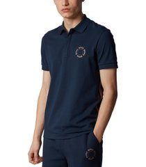 boss men's paddy 8 pique polo shirt