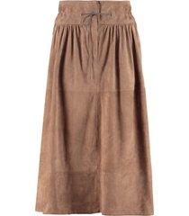fabiana filippi suede skirt