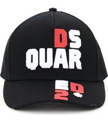 dsquared2 d2 puzzle baseball cap