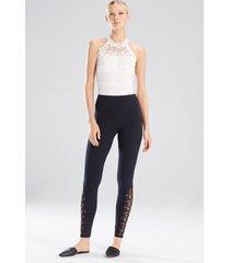 element bodysuit, women's, white, cotton, size l, josie natori