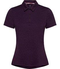 jacq ss p t-shirts & tops polos lila adidas golf