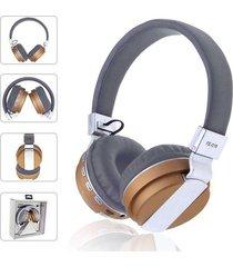 audífonos bluetooth, shuua fe-018 plegables auricular - oro