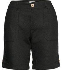 pzbianca shorts shorts chino shorts svart pulz jeans