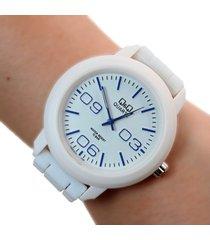 reloj q&q blanco dayoshop