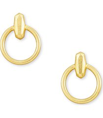 women's kendra scott lola mini frontal hoop earrings
