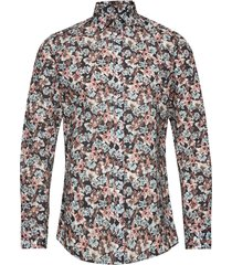 8577 - iver soft skjorta casual multi/mönstrad sand