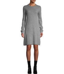 cashmere shift dress