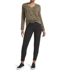 kendall + kylie cheetah leggings pajamas set, online only