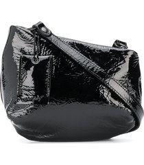 marsèll distressed crossbody bag - black