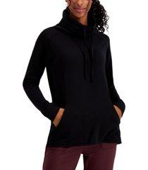 32 degrees funnel-neck fleece tunic