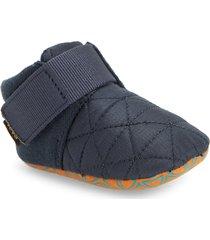 infant teva ember moccasin bootie, size 0-1 m - blue
