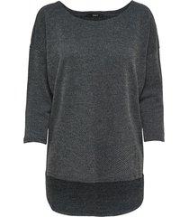grijs alleen onlalba 3/4 top hoodie