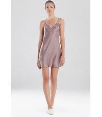 ava silk chemise sleepwear pajamas & loungewear, women's, 100% silk, size m, josie natori