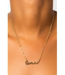 akira gemini name place necklace