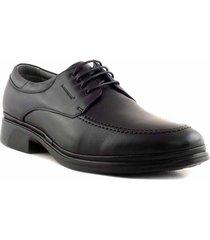 zapato negro briganti hombre cesena