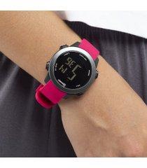 relógio digital x games xfppd080 - feminino - rosa