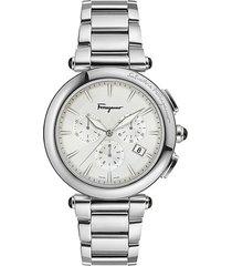 idillio stainless steel chronograph watch