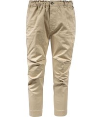 dsquared2 elasticated waist trousers