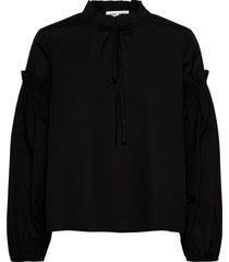 maia shirt 11468 blouse lange mouwen zwart samsøe samsøe