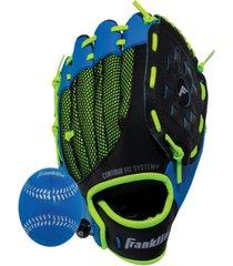 "franklin sports 9.0"" neo-grip teeball glove left handed"