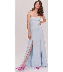 pale blue the cameron dress