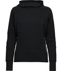 core gym tech funnel sweat-shirt trui zwart superdry sport