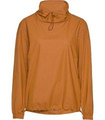ultralight pullover regenkleding oranje rains