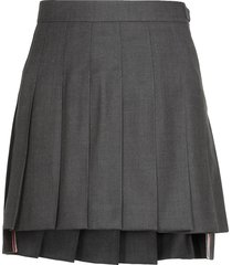 thom browne mini skirt school uniform
