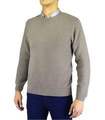sweater pato pampa fantasía marrón