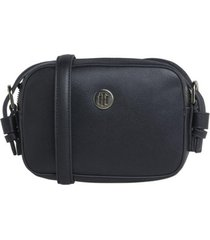 cartera classic camera negro tommy jeans