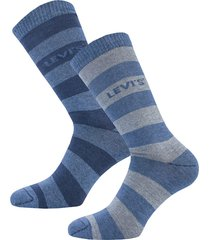 mens rugby stripe 2 pack socks