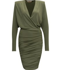 alexandre vauthier draped dress