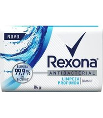 sabonete em barra rexona antibacteriano limpeza profunda 84g