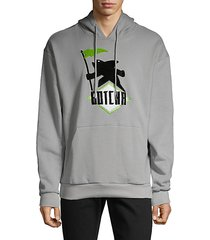 graphic cotton hoodie