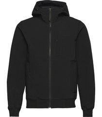 m softshell hood jacket outerwear sport jackets svart peak performance