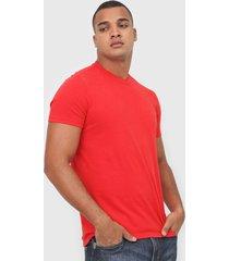 camiseta osklen vintage coroa vermelha