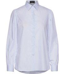 8754 - loreto overhemd met lange mouwen blauw sand