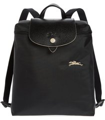 longchamp le pliage club backpack - black