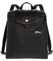 longchamp le pliage club backpack - black