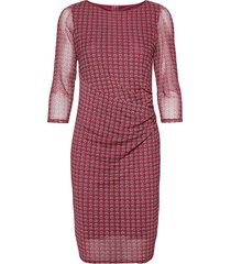 dresses knitted jurk knielengte rood esprit collection